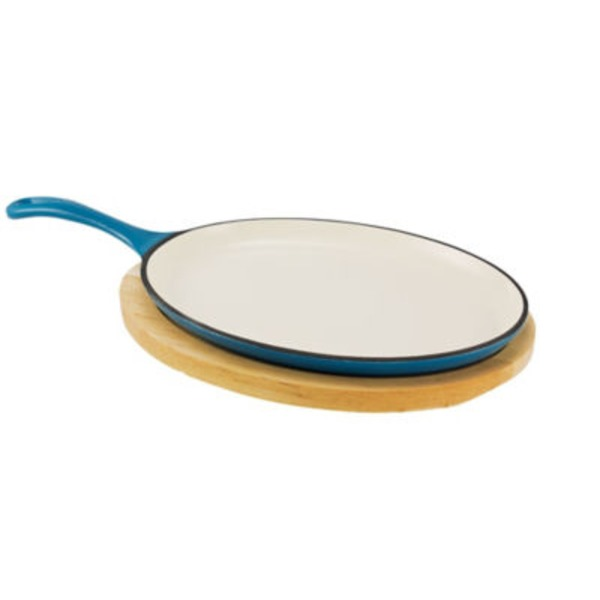 Cocinaware Light Blue Fajita Pan