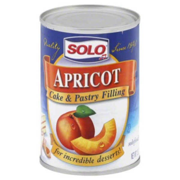 Solo Apricot Cake & Pastry Filling