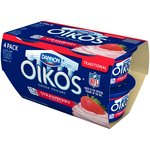 Dannon Oikos Strawberry Traditional Greek Yogurt