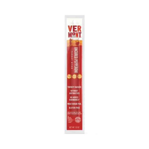Vermont Smoke & Cure® Uncured Pepperoni Turkey Stick