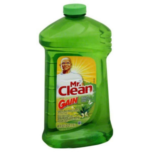 Mr. Clean Mr Clean Liquid All Purpose Cleaner with Gain Original 40 Oz  Surface Care