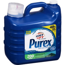 Purex Mountain Breeze Dirt Lift Action Liquid Laundry Detergent