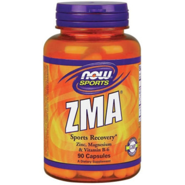 Now Zma Anabolic Sports Recovery 800 Mg