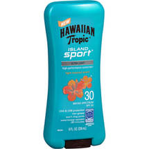 Hawaiian Tropic Island Sport Ultra Light Tropical Scent SPF 30 Sunscreen