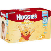 HUGGIES Little Snugglers Diapers Size 4