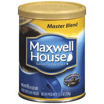Maxwell House Coffee Master Blend Mild Roast Ground Coffee