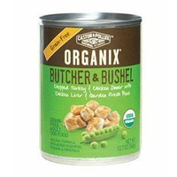 Castor & Pollux Organix Butcher & Bushel Grain-Gree Turkey & Chicken Dog Food