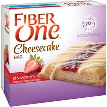 Fiber One Strawberry Cheesecake Bars