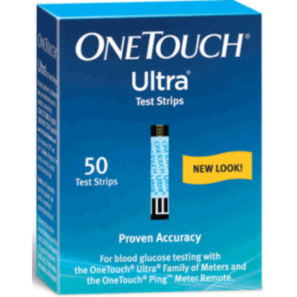 OneTouch Ultra Test Strips, Blue