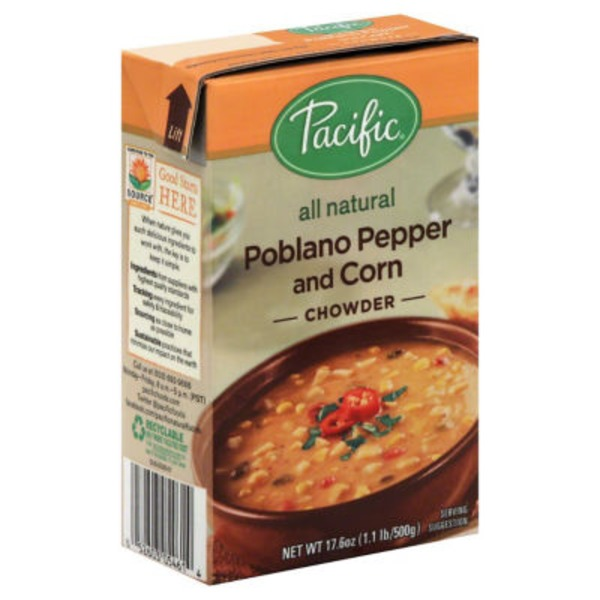 Pacific Poblano Pepper & Corn Chowder