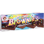 Little Debbie Snacks Cosmic Brownies With Chocolate Chip Candy