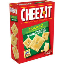 Cheez It Reduced Fat White Cheddar