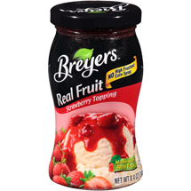 Breyers Real Fruit Strawberry Topping