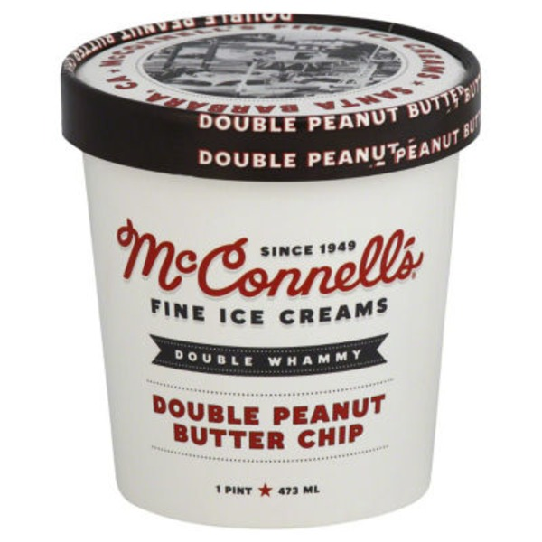 McConnell's Fine Ice Creams Double Peanut Butter Chip