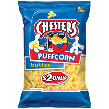 Chester's Puffcorn Butter Puffed Corn Snacks