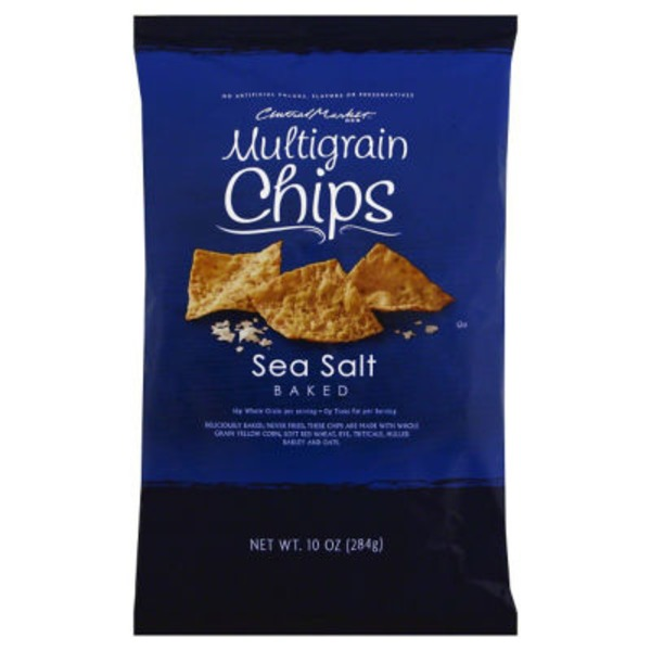Central Market Sea Salt Baked Multigrain Chips