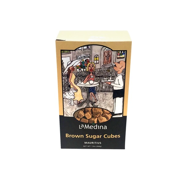 La Medina Brown Sugar Cubes