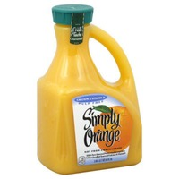 Simply Beverages Calcium & Vitamin D Pulp Free Orange Juice