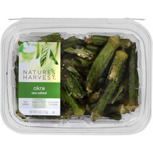 Nature's Harvest Sea Salted Okra