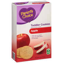 Parent's Choice Apple Toddler Cookies