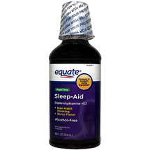 Equate Alcohol Free Night Time Sleep Aid