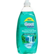 Great Value Mountain Falls Scent Ultra Concentrated Dishwashing Liquid
