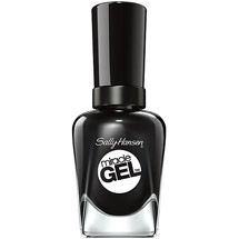 Sally Hansen Miracle Gel Nail Color Blacky O 0.5 fl oz