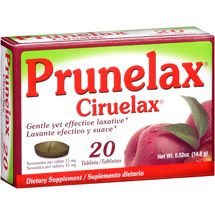 Prunelax Ciruelax Dietary Supplement 15mg