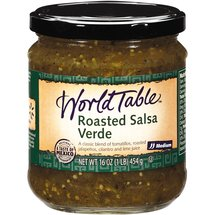 World Table Roasted Green Medium Salsa