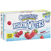 CapriSun Roarin' Waters Berry Flavored Beverage 10 Ct/6 Fl Oz
