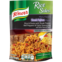 Knorr Rice Sides Steak fajitas Rice