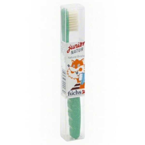 Fuchs Junior Natur Medium Toothbrush
