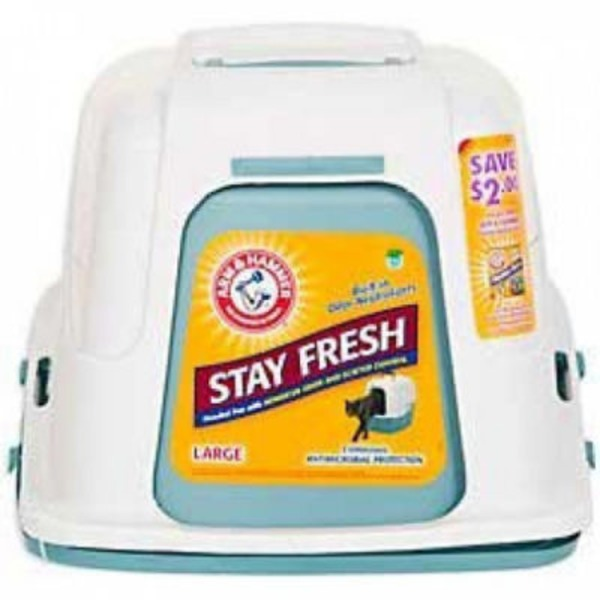 Arm & Hammer Large Blue Hooded Litter Pan