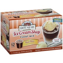 Grove Square Ice Cream Shop Root Beer Float Mix Single Serve Cups