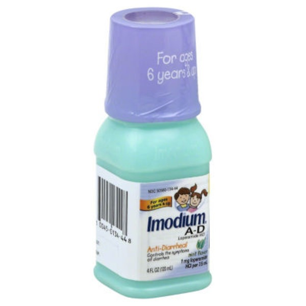 Imodium® A D Children's Liquid Mint Flavor Anti-Diarrheal