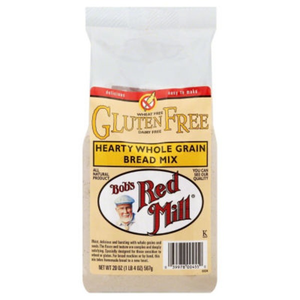 Bob's Red Mill Hearty Whole Grain Bread Mix Gluten Free