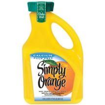 Simply Orange Calcium Pulp Free Orange Juice