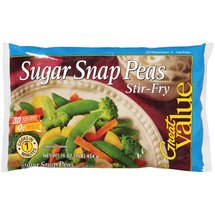 Great Value Sugar Snap Peas Stir-Fry