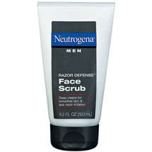 Neutrogena Face Scrub Men Razor Defense