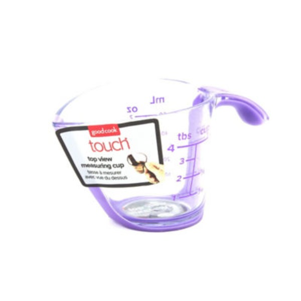 Good Cook Pro Measuring Cup Top View 1/4 Cup