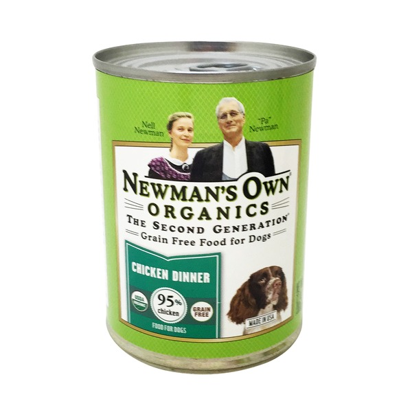 Newman's Own Grain Free Chicken Dinner Food for Dogs