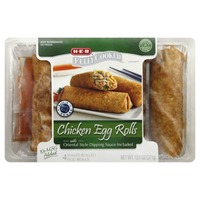 H-E-B Fully Cooked Chicken Egg Rolls
