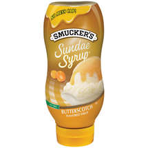 Smucker's Butterscotch Fat Free Toppings Sundae Syrup