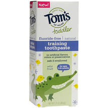 Tom's of Maine Toddler Mild Fruit Flavor Training Toothpaste