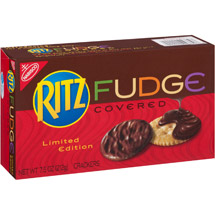 Ritz Fudge Covered Crackers