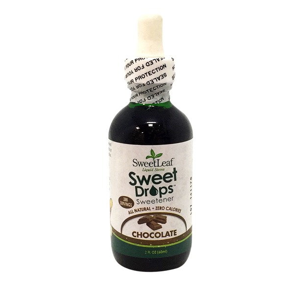 Sweet Leaf Tea Co Sweetener, Liquid Stevia, Chocolate