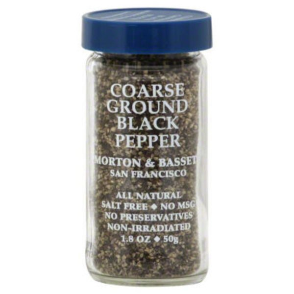 Morton & Bassett Spices Coarse Ground Black Pepper