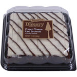 The Bakery at Walmart Cream Cheese Iced Brownie