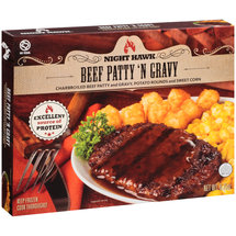 Night Hawk Beef Patty 'N Gravy Frozen Entree