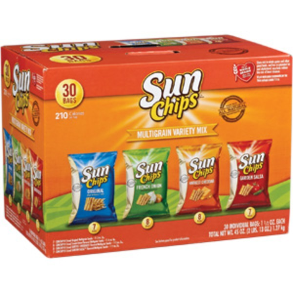 Sun Chips Multigrain Variety Mix